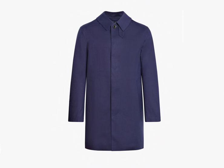 Classic Blue Mackintosh